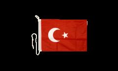 Bootsfahne Türkei - 30 x 40 cm