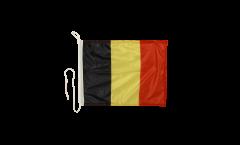 Bootsfahne Belgien - 30 x 40 cm