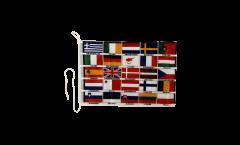 Bootsfahne EU 25 Länder - 30 x 40 cm