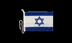 Bootsfahne Israel - 30 x 40 cm