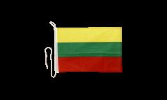 Bootsfahne Litauen - 30 x 40 cm