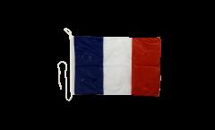 Bootsfahne Frankreich - 30 x 40 cm