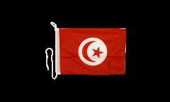 Bootsfahne Tunesien - 30 x 40 cm
