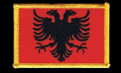 Aufnäher Albanien - 8 x 6 cm