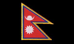 Aufnäher Nepal - 8 x 6 cm
