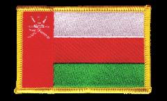 Aufnäher Oman - 8 x 6 cm