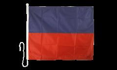 Signalflagge Echo (E) - 75 x 90 cm