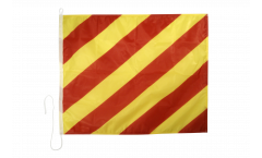 Signalflagge Yankee (Y) - 75 x 90 cm