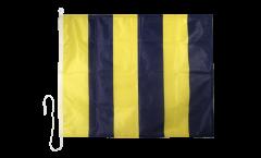 Signalflagge Golf (G) - 75 x 90 cm