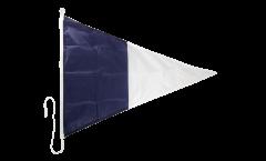 Signalflagge Hilfsstander 2 - 60 x 90 cm