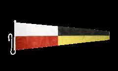 Zahlenwimpel 9 - 45 x 180 cm