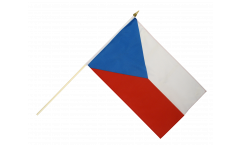 Stockflagge Tschechien - 10er Set - 30 x 45 cm