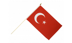 Stockflagge Türkei - 10er Set - 30 x 45 cm