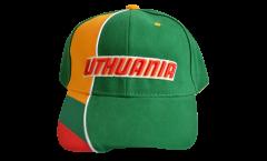 Cap / Kappe Litauen, grün-gelb, flag
