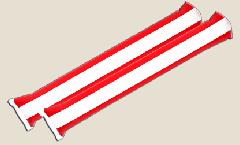Airsticks Österreich - 10 x 60 cm