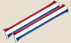Airsticks Niederlande - 10 x 60 cm