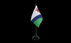 Tischflagge Lesotho alt - 10 x 15 cm
