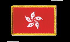 Aufnäher Hongkong - 8 x 6 cm
