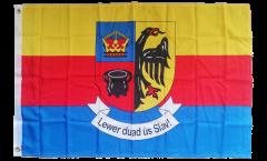 Flagge Deutschland Nordfriesland