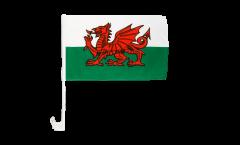 Autofahne Wales - 30 x 40 cm