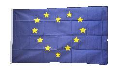Herzflagge Europäische Union EU - 90 x 150 cm
