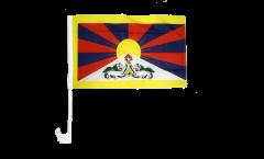 Autofahne Tibet - 30 x 40 cm