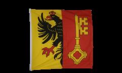 Flagge Schweiz Kanton Genf - 90 x 90 cm