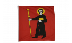 Flagge Schweiz Kanton Glarus - 90 x 90 cm