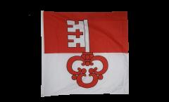 Flagge Schweiz Kanton Obwalden - 90 x 90 cm