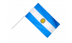 Stockflagge Argentinien - 60 x 90 cm