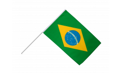 Stockflagge Brasilien - 60 x 90 cm
