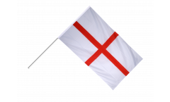 Stockflagge England St. George - 60 x 90 cm