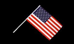 Stockflagge USA - 60 x 90 cm
