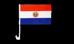 Autofahne Paraguay - 30 x 40 cm