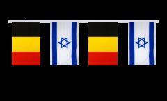 Freundschaftskette Belgien - Israel - 15 x 22 cm