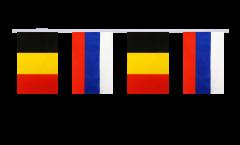 Freundschaftskette Belgien - Russland - 15 x 22 cm