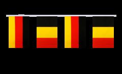 Freundschaftskette Deutschland - Belgien - 15 x 22 cm