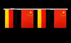 Freundschaftskette Deutschland - China - 15 x 22 cm