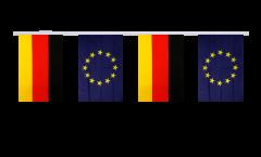 Freundschaftskette Deutschland - Europäische Union EU - 15 x 22 cm