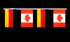 Freundschaftskette Deutschland - Kanada - 15 x 22 cm