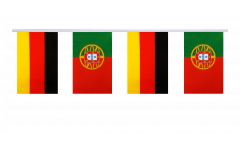 Freundschaftskette Deutschland - Portugal - 15 x 22 cm