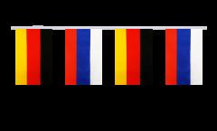 Freundschaftskette Deutschland - Russland - 15 x 22 cm