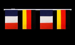 Freundschaftskette Frankreich - Deutschland - 15 x 22 cm