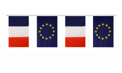 Freundschaftskette Frankreich - Europäische Union EU - 15 x 22 cm