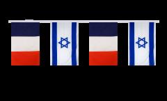 Freundschaftskette Frankreich - Israel - 15 x 22 cm