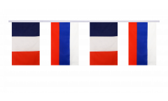 Freundschaftskette Frankreich - Russland - 15 x 22 cm