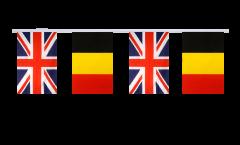 Freundschaftskette Großbritannien - Belgien - 15 x 22 cm