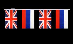 Freundschaftskette Großbritannien - Russland - 15 x 22 cm
