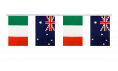 Freundschaftskette Italien - Australien - 15 x 22 cm
