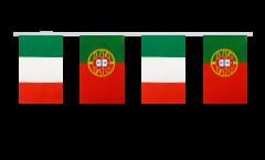 Freundschaftskette Italien - Portugal - 15 x 22 cm